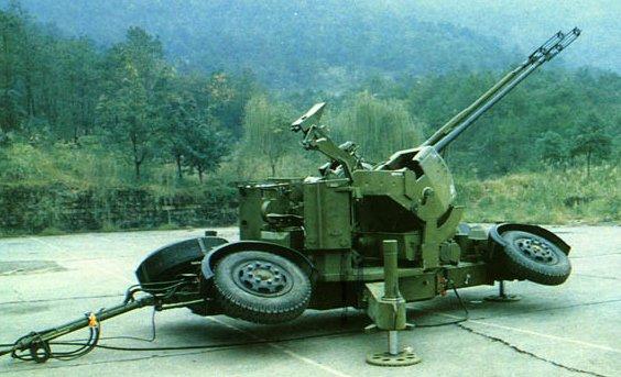 Anti-aircraft Artillery AAA Type-90-35mm