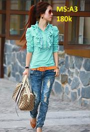 Áo thun siêu dễ thương + Quần Skinny, quần Harem 20120320220220_3_s10500