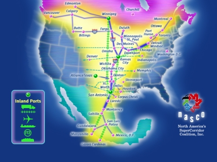 New Obama Executive Order Pushes Us Closer To A North American Union And A One World Economic System NAFTA-Superhighway