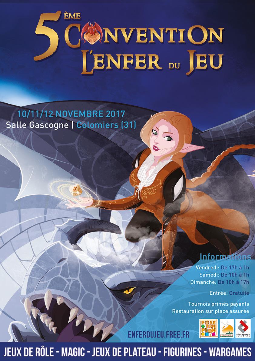L'Enfer du Jeu - 11/11/11 et suivant - Colomiers Illustration-affiche