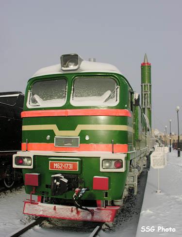 اطلاق الصواريخ من القطارات. 1