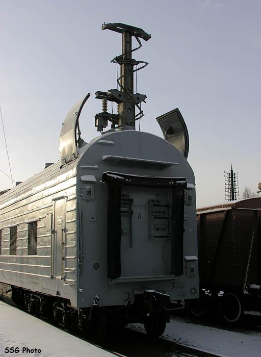 اطلاق الصواريخ من القطارات. 2