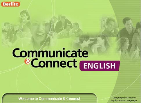 سيديات معهد بيرلتز لتعليم اللغة الإنجليزية Berlitz Communicate & Connect English 1156535456_berlitz