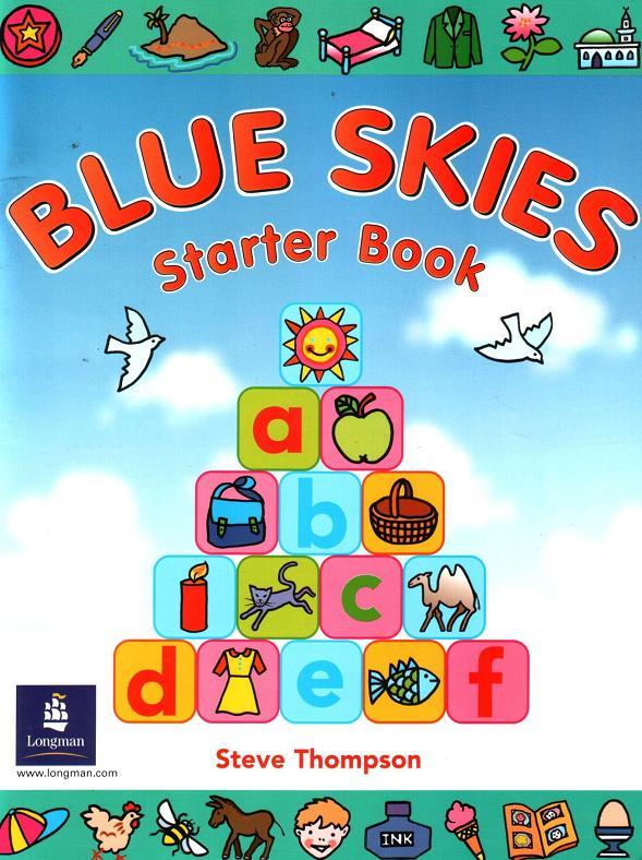 تحميل لـ KG1-KG2 منهج Blue Skies Starter Book 1252285267_1