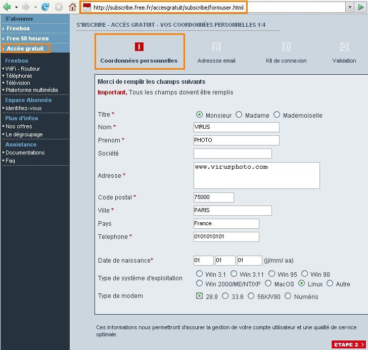 Comment créer son site gratuitement chez free.fr 002