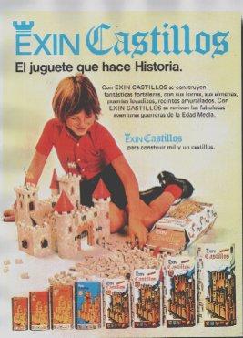 Aquellos entrañables juguetes de nuestra infancia ExinCastillos