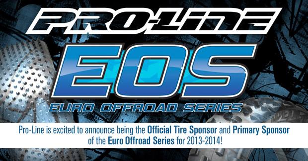 Pro-Line sponsor officiel de l'EOS 2013 - 2014 ProlineEOS