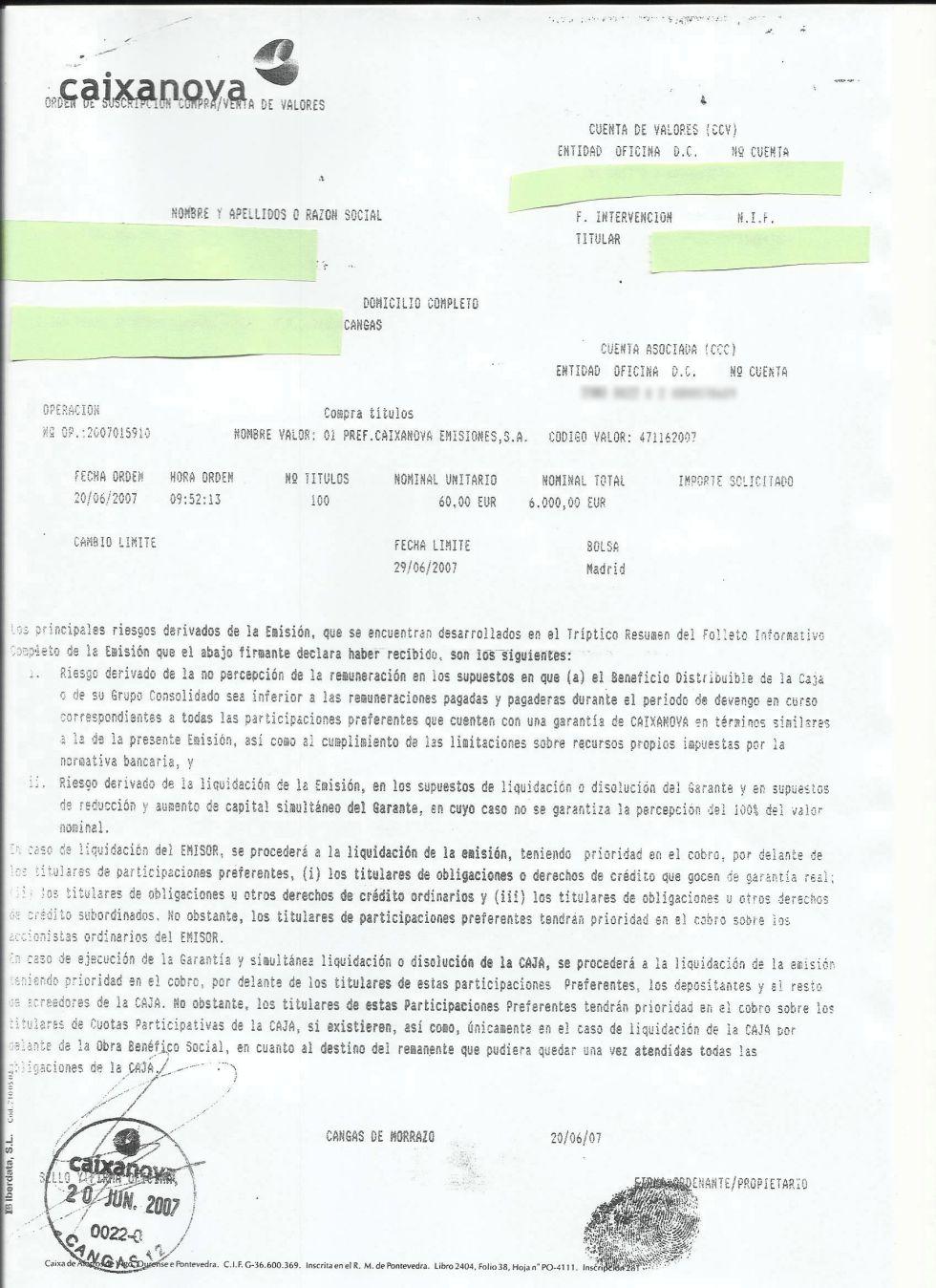 El negocio de la participaciones preferentes de la banca 1339097383_593845_1339167765_noticia_grande