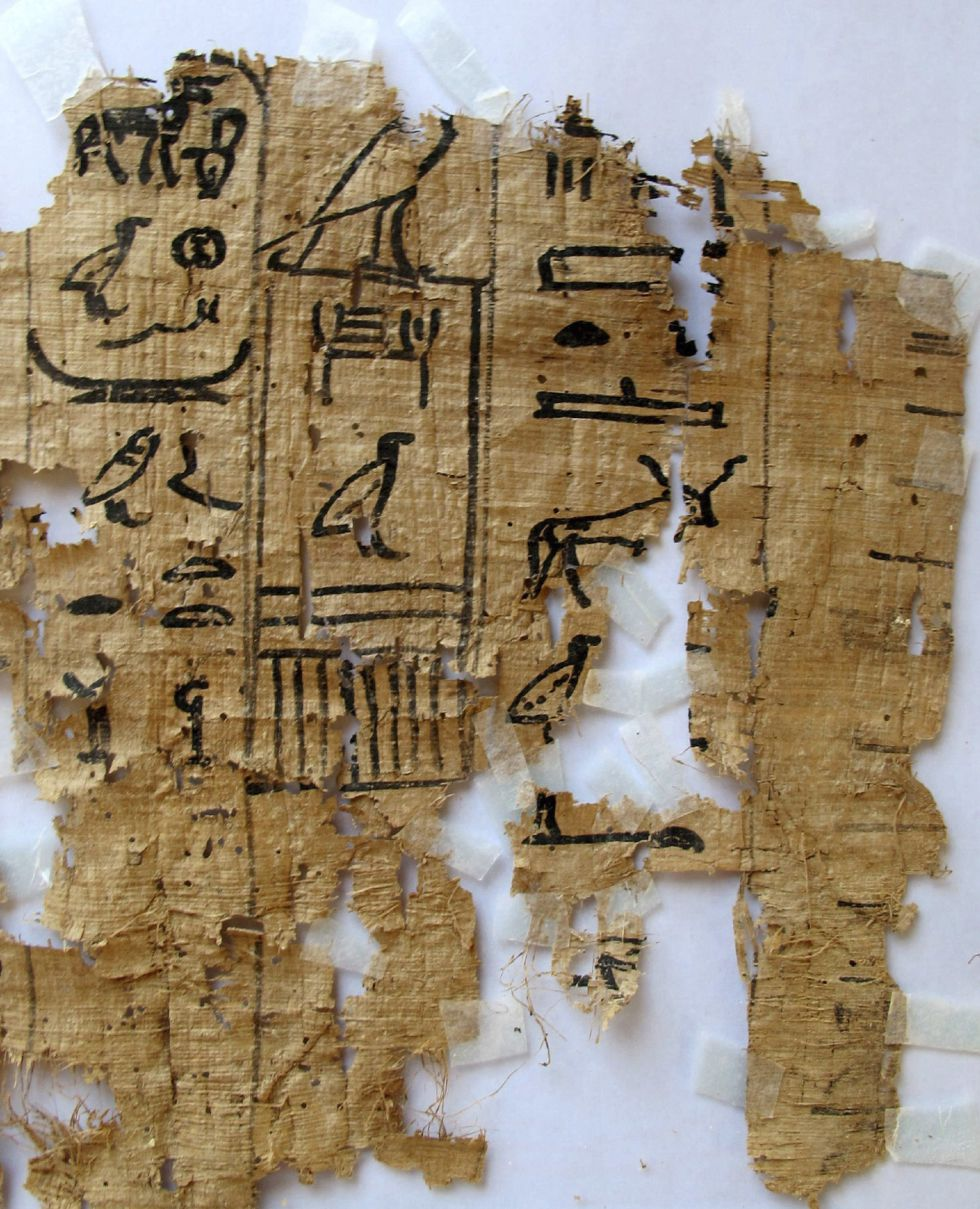 Los papiros más antiguos, hallados en Egipto 1365703321_016744_1365703724_noticia_grande