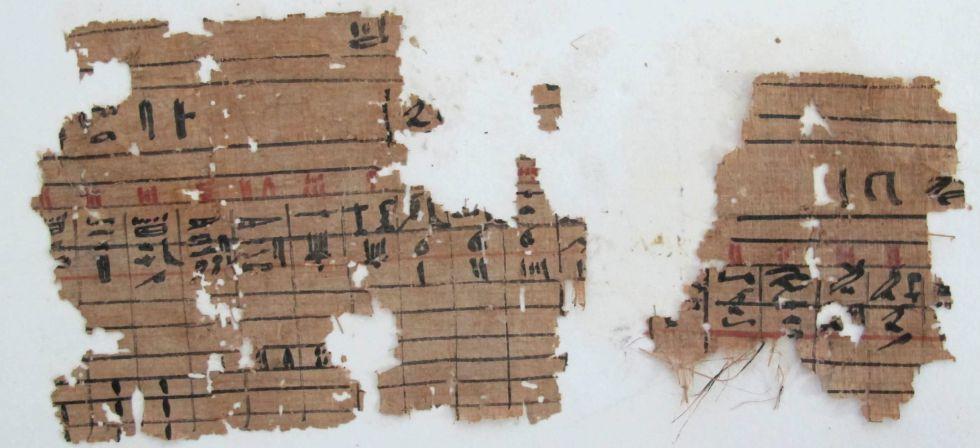 Los papiros más antiguos, hallados en Egipto 1365703321_016744_1365704315_sumario_grande