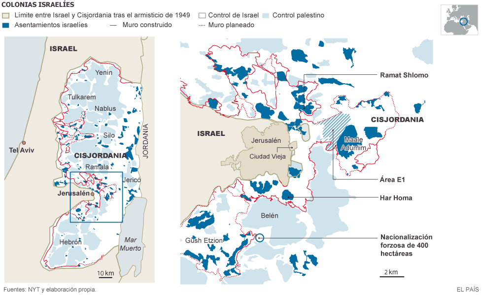 Palestina: Violencia ejercida por Israel en la ocupación. Respuestas y acciones militares palestinas. - Página 8 1414610244_187783_1414611673_noticia_grande