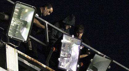 Detenidos dos aficionados del Rayo acusados de sabotear el Rayo Vallecano - Real Madrid 1348426773_946674_1348428275_portada_normal
