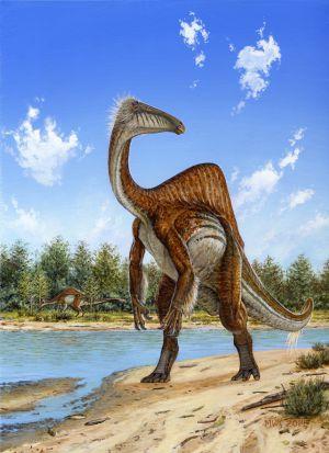 Completan el cuerpo del Deinocheirus mirificus 1413996747_195398_1413996936_noticia_normal