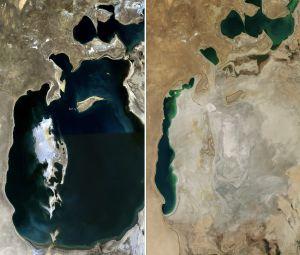 Mar de Aral reducido al 10% de la superficie anterior. 1441207228_578712_1441207475_noticia_normal
