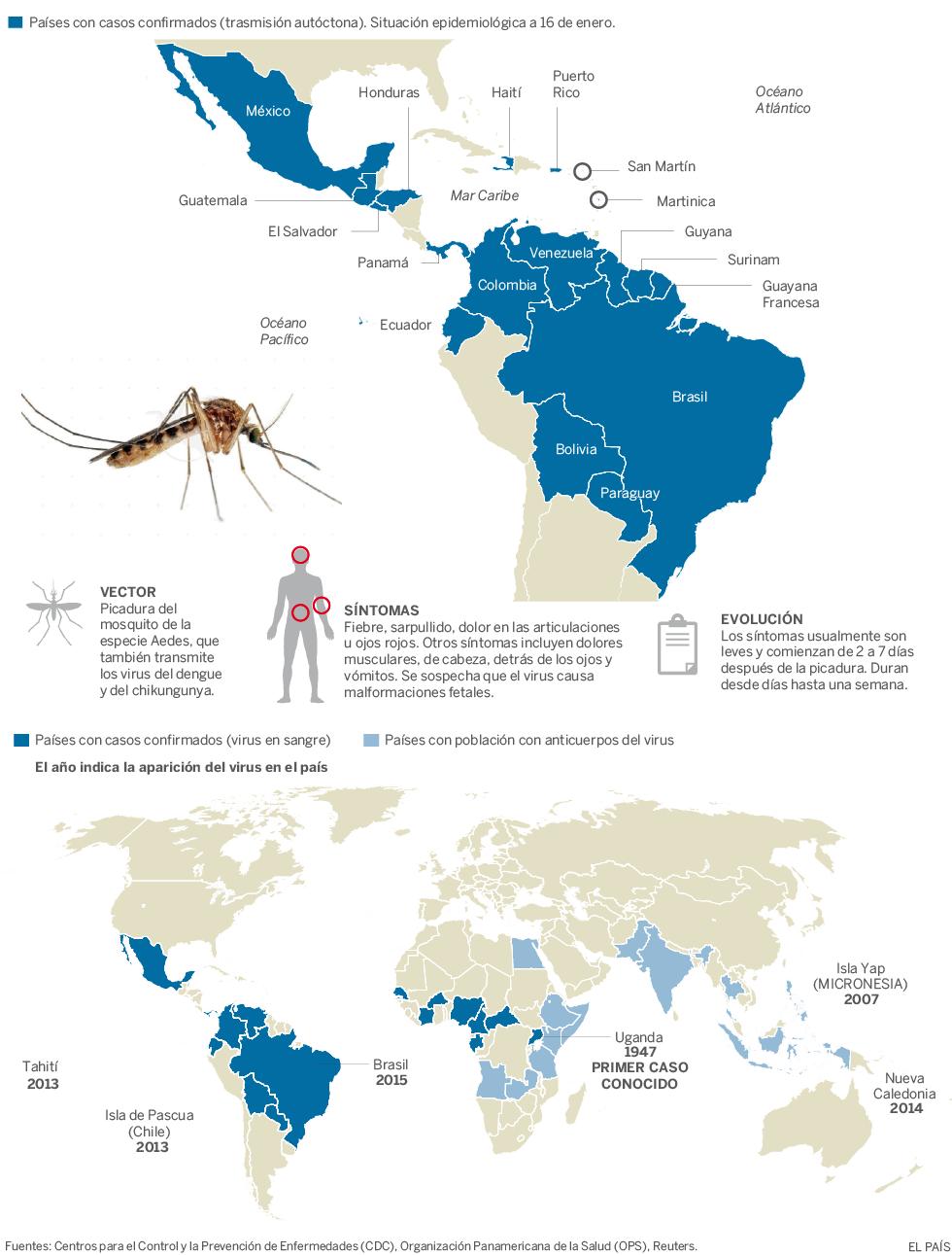 Virus Zika, patentes, plaguicidas, vacunas, microcefalias...  1453230712_478783_1453230745_noticia_normal