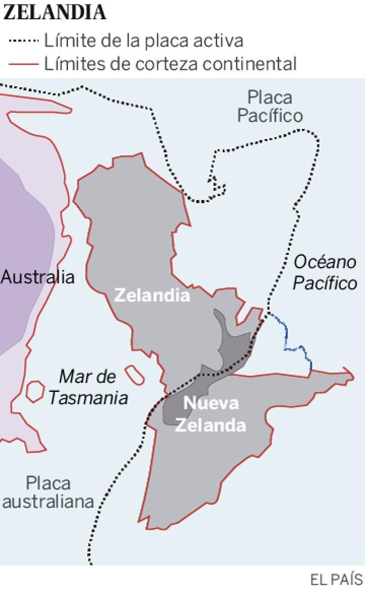 Hallado Zelandia, un enorme continente sumergido en el Pacífico 1487350981_663822_1487598928_sumario_normal_recorte1