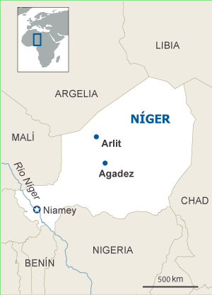 Níger: Fuerzas especiales de Francia protegen las minas de uranio. 1369300418_112554_1369325494_sumario_normal