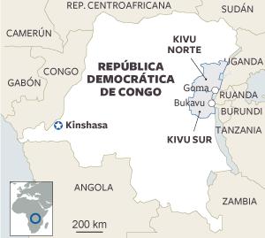 República  Democrática  del Congo:  miles de  personas  huyen de  los choques  militares. 1383642968_110904_1383658326_sumario_normal