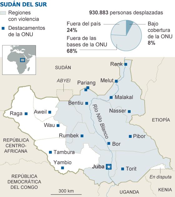 Sudán, Sudán del Sur. Militarismo, guerras, petróleo. - Página 4 1395422800_317211_1395428735_sumario_normal