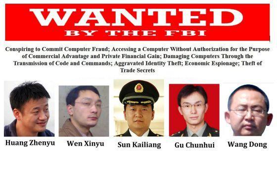 La Justicia de EE UU acusa a militares chinos de espionaje industrial 1400538142_171115_1400539519_noticia_normal