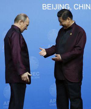 ¿Pueden China y Rusia echar a Washington a empujones de Eurasia?  1416421925_750344_1416422744_noticia_normal