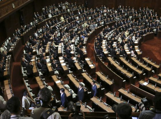 Japón aprueba las normas para ampliar el papel de su Ejército 1437037559_411844_1437038583_noticia_normal