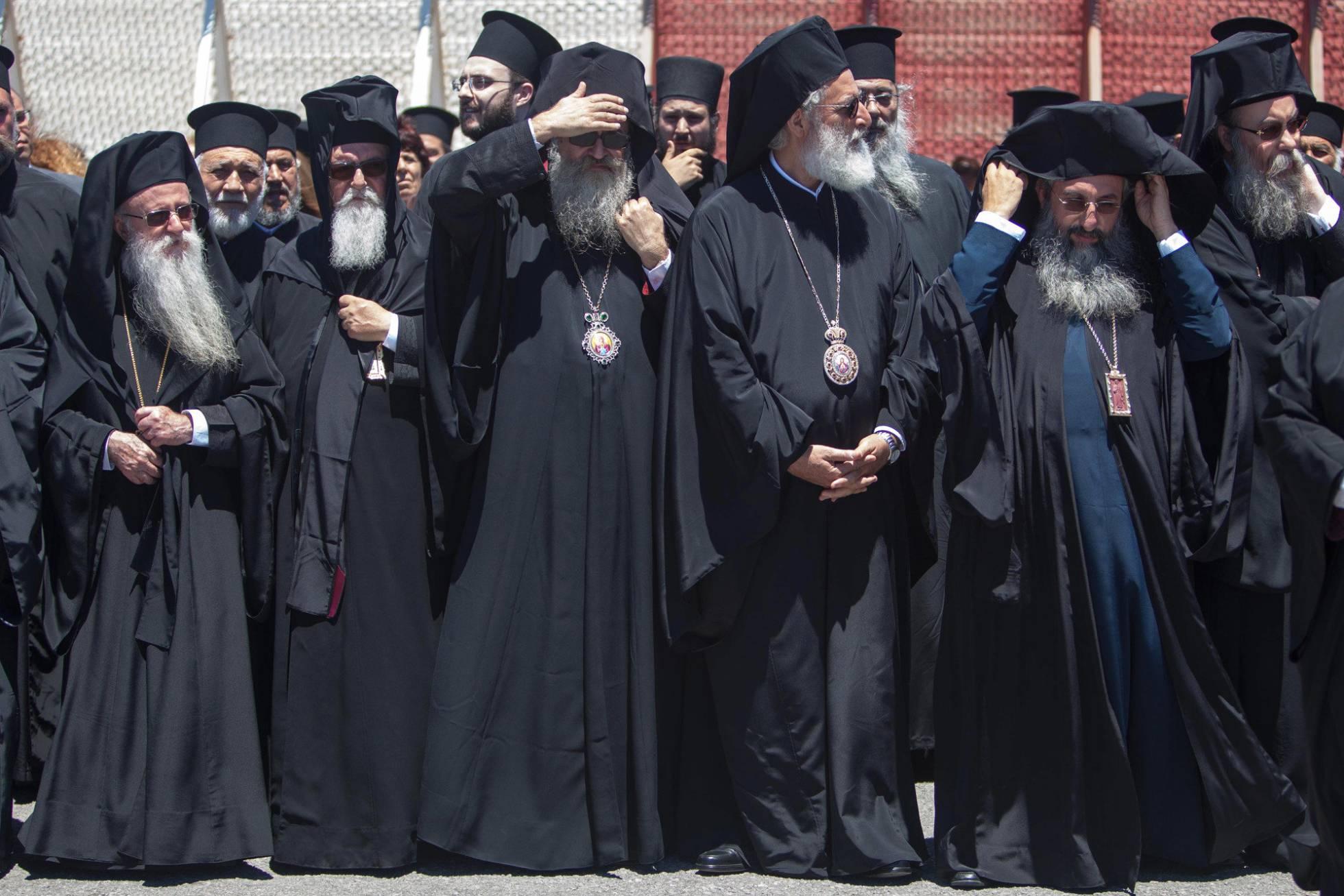 Conflictos en relación al primer gran sínodo de Iglesias cristianas ortodoxas en 1.200 años. 1466100033_341650_1466101038_noticia_normal_recorte1