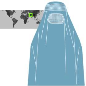 Velos islámicos. Prendas con que recubren el cuerpo femenino de muchas mujeres musulmanas varía según costumbres y países. 1471347181_490989_1471348622_sumariofototexto_normal_recorte1