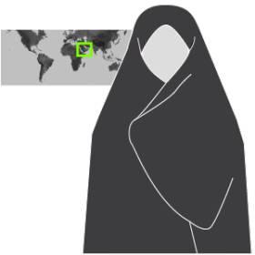 Velos islámicos. Prendas con que recubren el cuerpo femenino de muchas mujeres musulmanas varía según costumbres y países. 1471347181_490989_1471350055_sumariofototexto_normal_recorte1