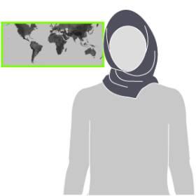 Velos islámicos. Prendas con que recubren el cuerpo femenino de muchas mujeres musulmanas varía según costumbres y países. 1471347181_490989_1471353448_sumariofototexto_normal_recorte1
