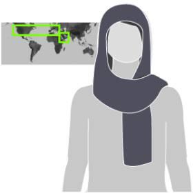 Velos islámicos. Prendas con que recubren el cuerpo femenino de muchas mujeres musulmanas varía según costumbres y países. 1471347181_490989_1471353490_sumariofototexto_normal_recorte1