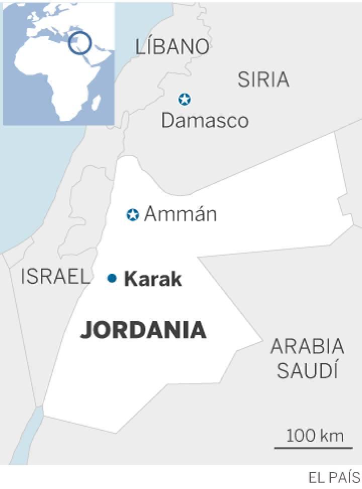 Jordania: la Policía reprime con dureza las protestas por la carestía del combustible. 1482069755_876980_1482085333_sumario_normal_recorte1