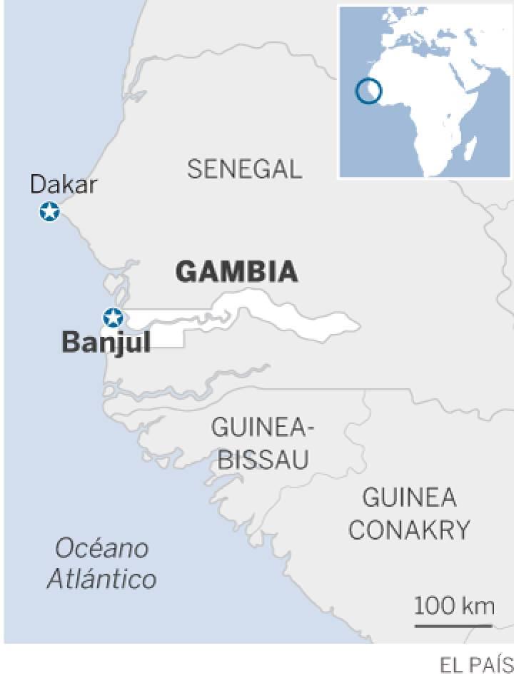 Gambia, quinto país africano emisor de emigrantes a Europa, mientras miles de turistas disfrutan la 'Costa sonriente'. 1484825974_096142_1484840451_sumario_normal_recorte1