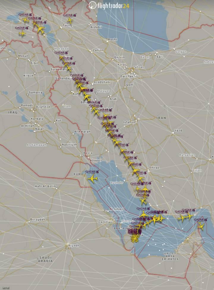 Arabia Saudita, Egipto, Bahréin y Emiratos Árabes Unidos cortaron relaciones diplomáticas con Qatar 1496768222_120087_1496768543_sumario_normal_recorte1