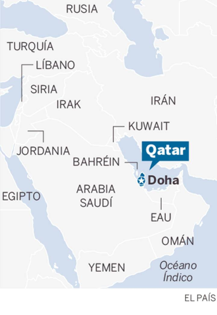 Arabia Saudita, Egipto, Bahréin y Emiratos Árabes Unidos cortaron relaciones diplomáticas con Qatar 1497088773_409761_1497122509_sumario_normal_recorte1