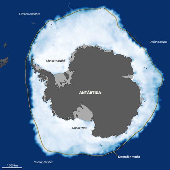 Antártida: El ritmo del deshielo se triplica en 30 años. [Calentamiento. Clima. cambio climático] 1351103513_393099_1351103722_noticia_normal