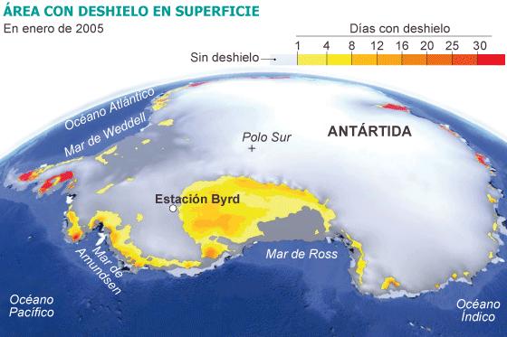 Antártida: El ritmo del deshielo se triplica en 30 años. [Calentamiento. Clima. cambio climático] 1356366627_901737_1356367232_noticia_normal