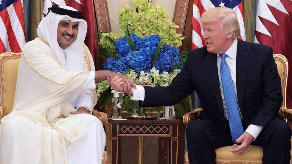 Arabia Saudita, Egipto, Bahréin y Emiratos Árabes Unidos cortaron relaciones diplomáticas con Qatar 1496643605_827816_1496654380_noticia_fotograma