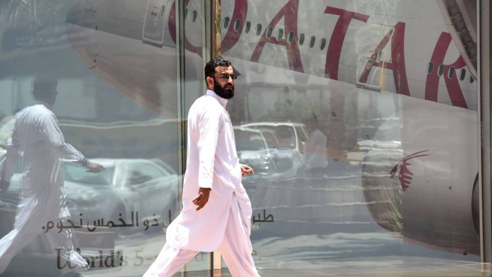 Arabia Saudita, Egipto, Bahréin y Emiratos Árabes Unidos cortaron relaciones diplomáticas con Qatar 1498209841_592480_1498245383_noticia_fotograma