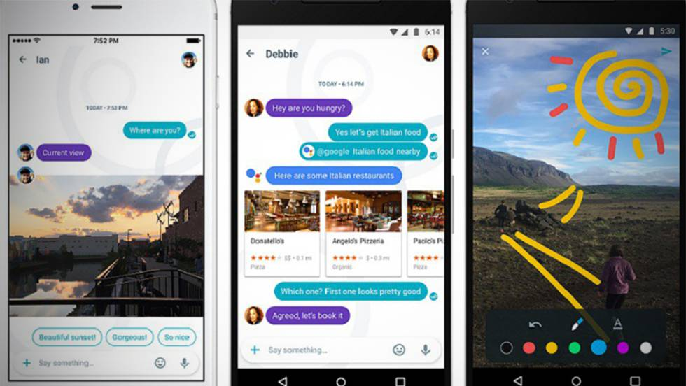 Google lanza Allo, un WhatsApp con inteligencia artificial 1474384588_950079_1474440344_noticia_fotograma