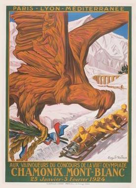 Vive la neige ! Olympicposter-19241122