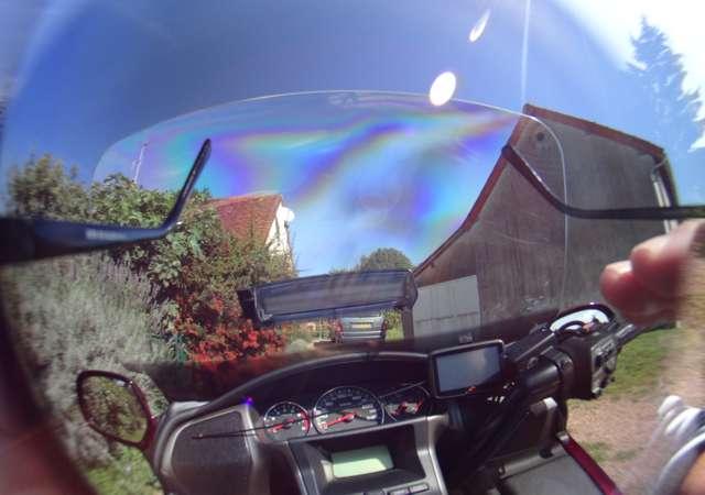 Lunettes de soleil en moto Polarisation