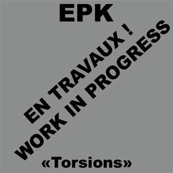 """Nouvel Album """"Torsions"""" out in 2009!!! Torsionsinprogress"""