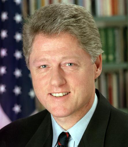 ¿Cuánto mide Bill Clinton? - Altura - Real height Bill-clinton-picture
