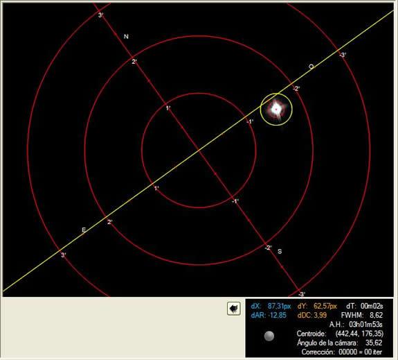 Mise a jour SynScan Skywatcher NEQ6 v3.36 AccCalibrar