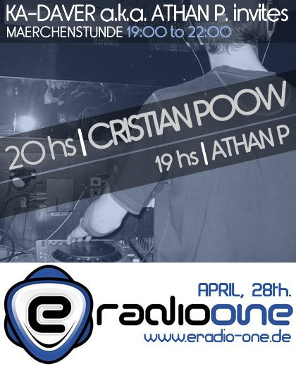 Cristian Poow @ eRadio One Germany - 28-04-2010 (Free Download) Kadaver_pre_poow