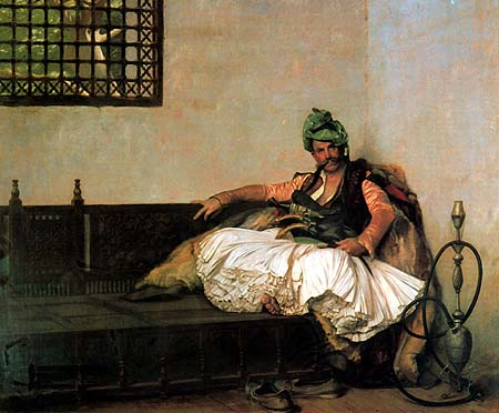 Romeo Models Bashi-bazouk-chief-by-Jean-Leon-Gerome-French.-Oil-1881