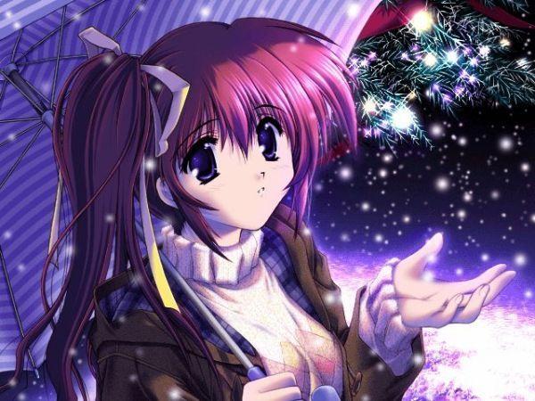 صور انمي في الشتاء Anime12