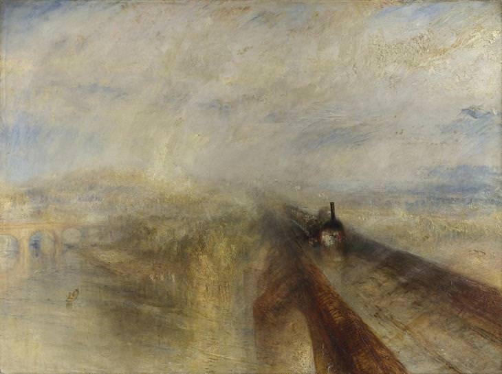 Cómo funcionan los genios Lluvia, vapor y velocidad. El ferrocarril del Oeste de J. M. W. Turner (1844) A564b1b9-d173-486e-b14b-c050f11bd857