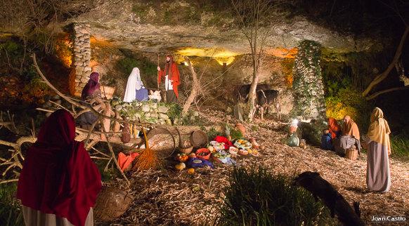 Les crèches de Noël 2015 Pessebre-vivent